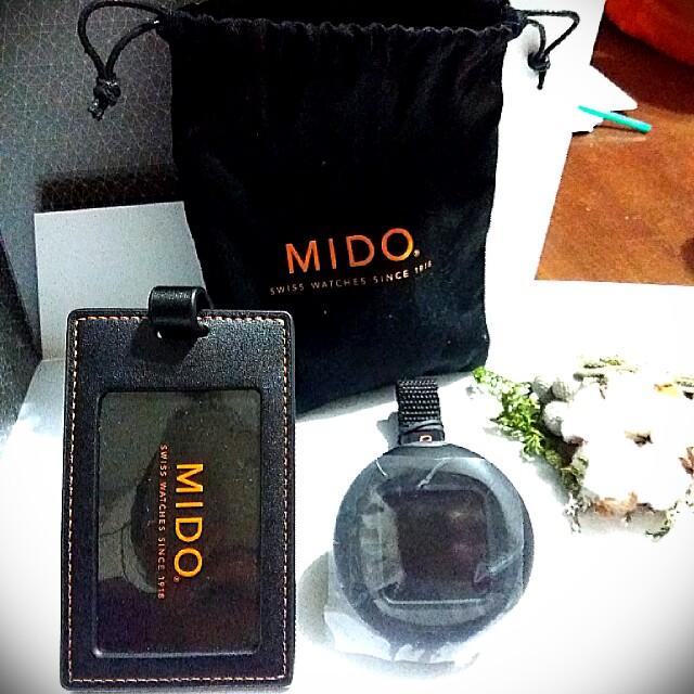MIDO 旅行箱吊牌+測重器