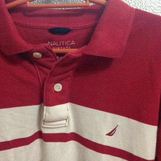 Nautica Vintage Longsleeves Polo Shirt