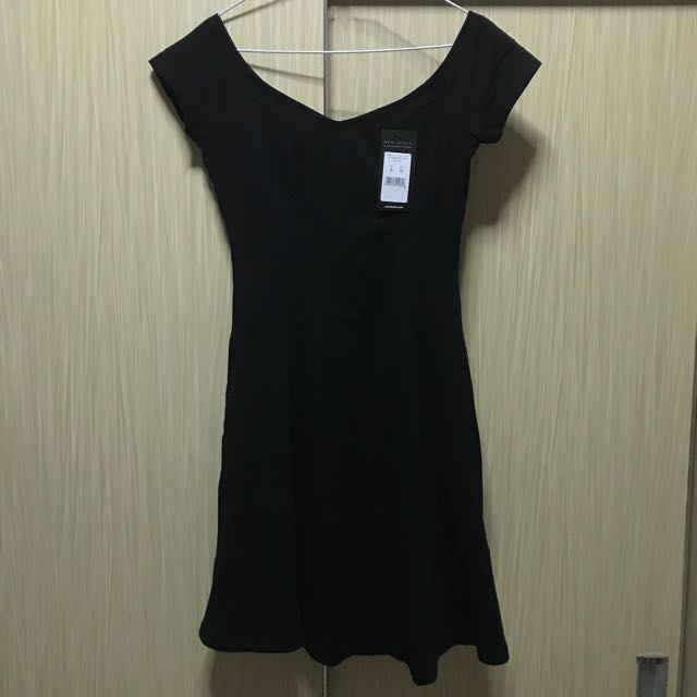 Nego sampai deal. New Look Sabrina Skater Dress Black