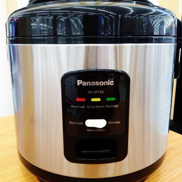 Nego sampai deal. Panasonic SR-JP185 Penanak Nasi / Rice Cooker / Magic Com