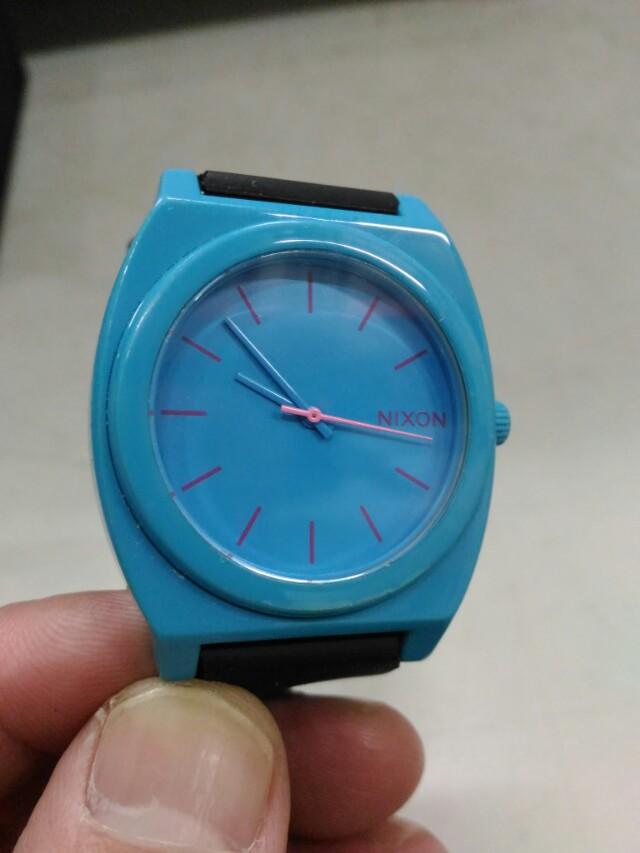 NIXON 尼克森  手錶 黑x藍  文青風