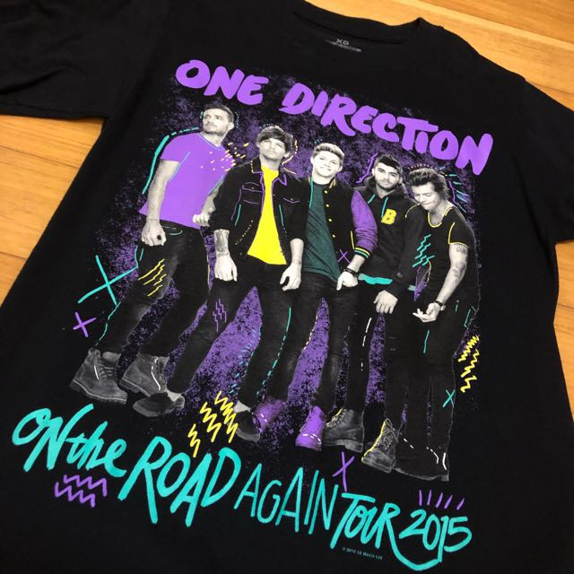 84028527ed8 One Direction 2015 On The Road Again Tour T-shirt!