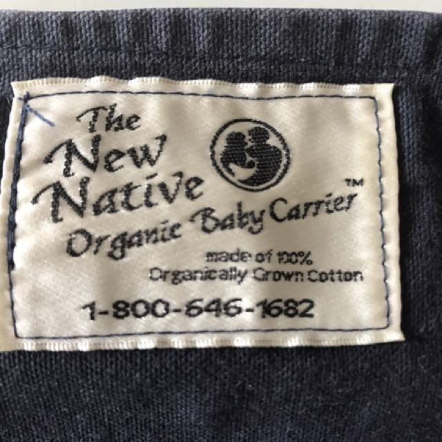 17f2cbdf79c Organic Cotton Baby Carrier - the New Native on Carousell