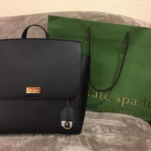 Original Kate Spade Backpack Black