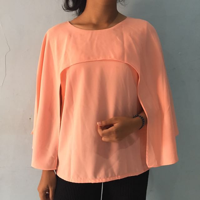 Pink Cape Top