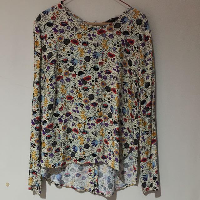 Preloved blouse H&M sizeS