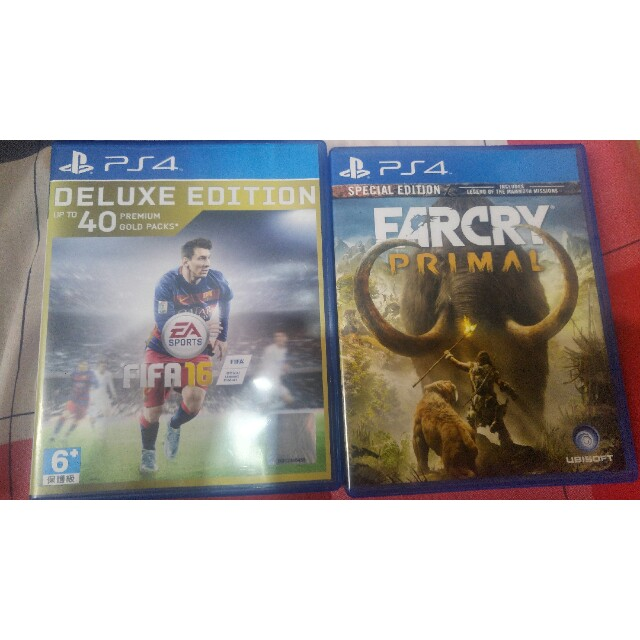 Ps 4 farcry primal and fifa 2016