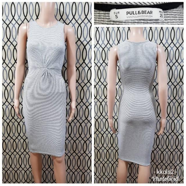 Pull & Bear Midi Bodycon Dress
