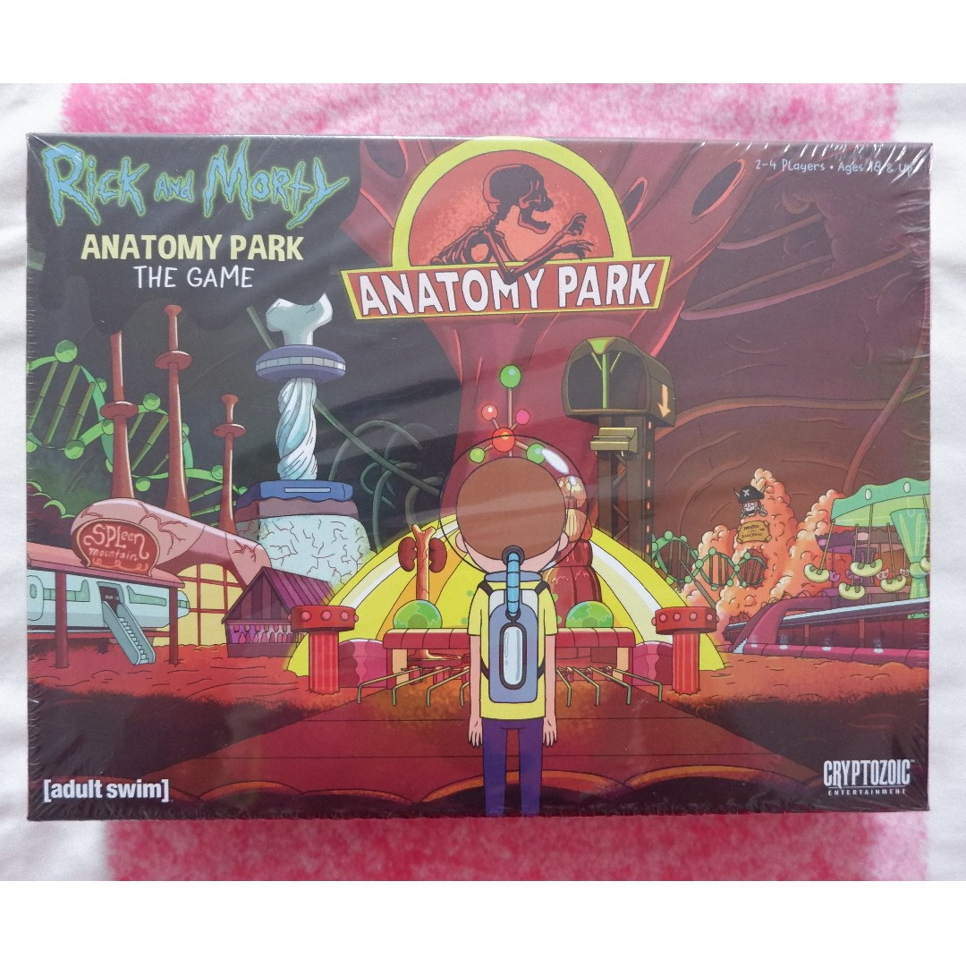 Rick and Morty: Anatomy Park - Board Game