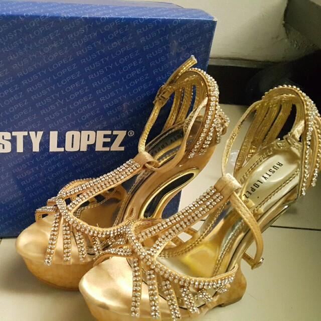 Rusty Lopez High Heels