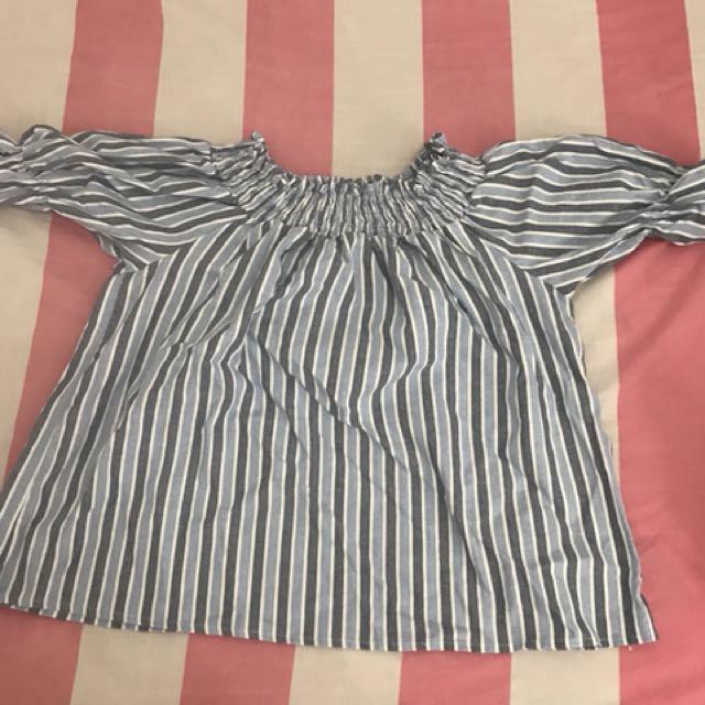 Sabrina blue stripes