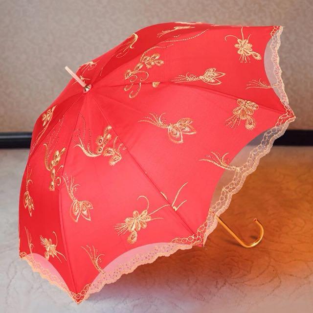 [Sellabrations] Wedding Red Umbrella