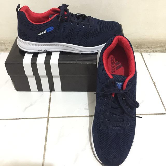 Sepatu Adidas Neo Navy Size 42