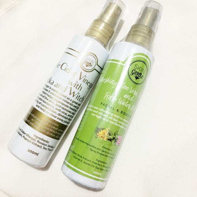 Skin genie acv toner & mist bundle