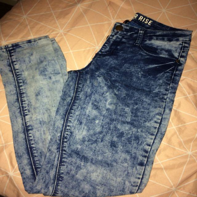 Skinny jean size 6