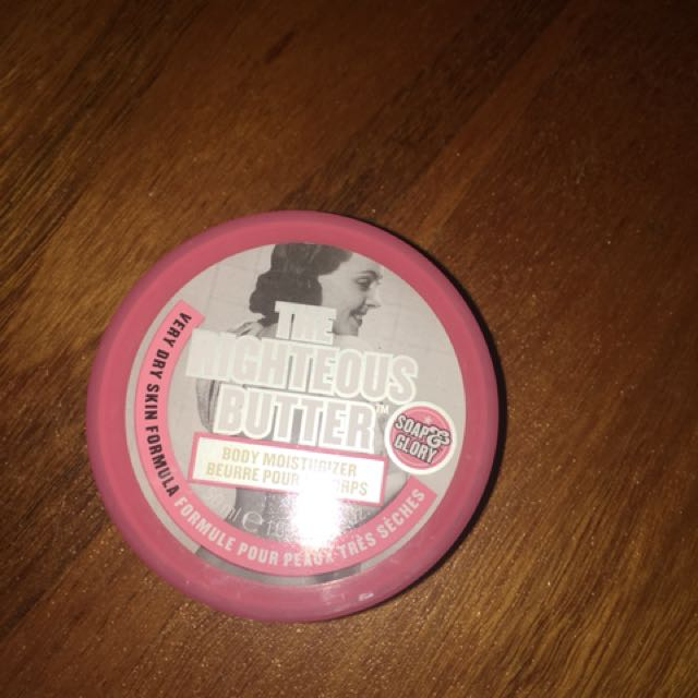 Soap and glory body butter