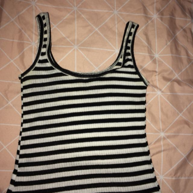 Striped top size small