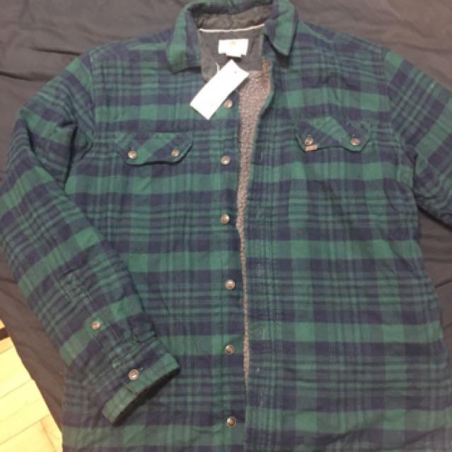 Timberland 刷毛 絨毛 外套 襯衫