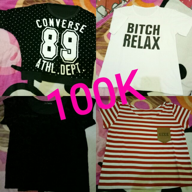 Tshirt take all 100k