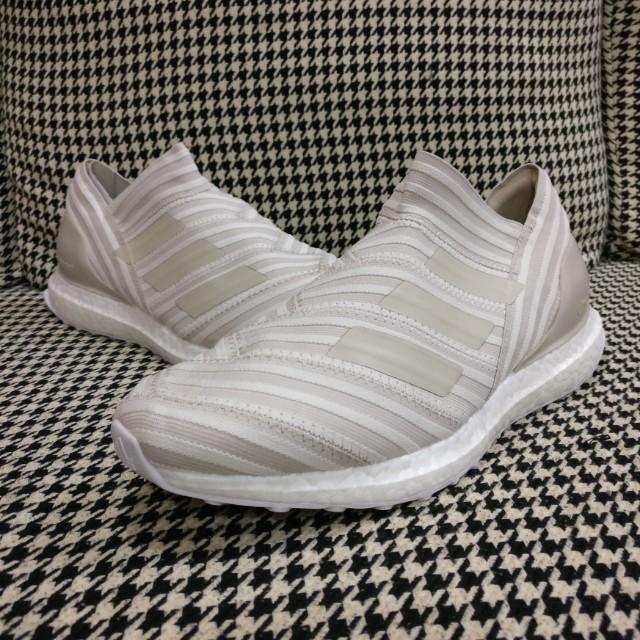 new concept 2d31f ad411 UK8 US8.5 Adidas Nemeziz Tango 17+ 360 Beige Ultra Boost
