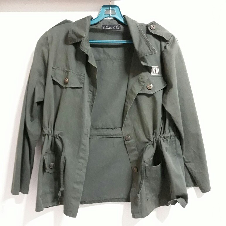 Us army parka outerwear olive green jacket 32c5f0d37