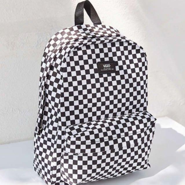 VANS Old Skool Checkerboard Backpack 9b448d14d7