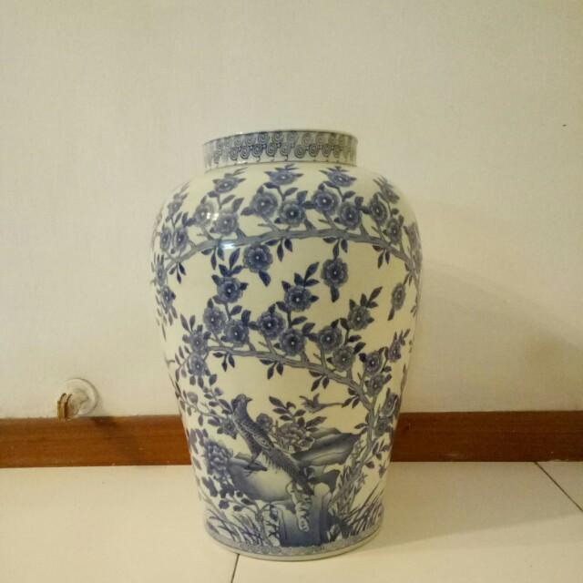 Vintage Porcelain Vase On Carousell