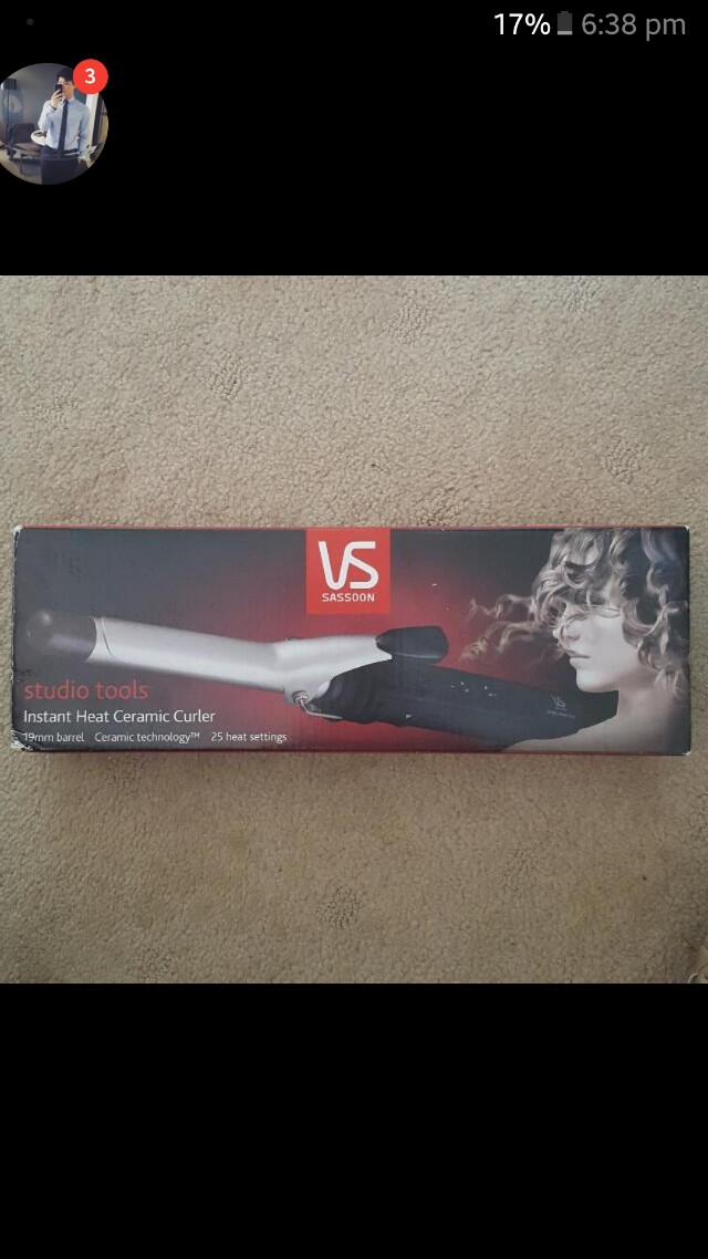 VS Sassoon 19mm Curling Iron