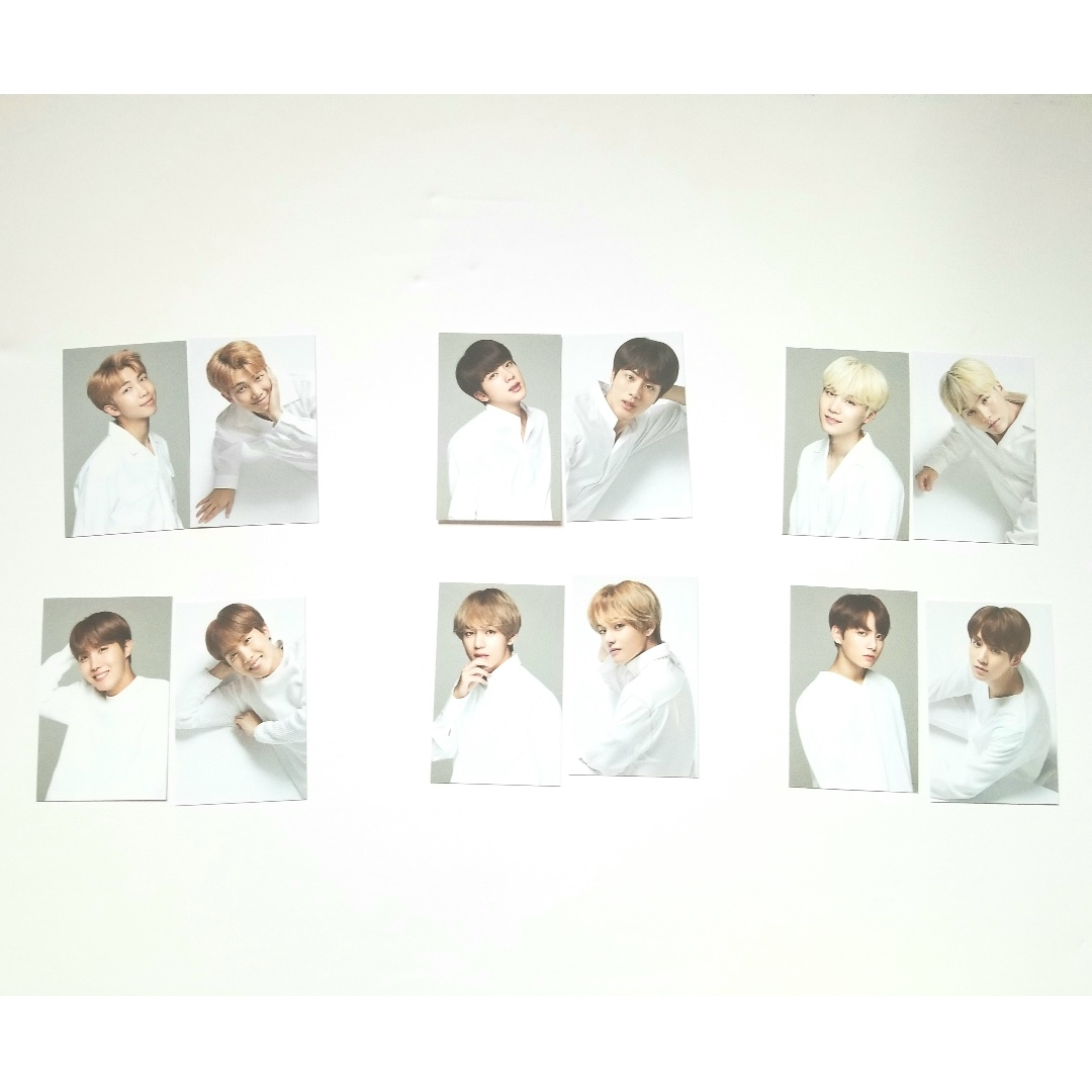 VT X BTS Think Your Teeth Jumbo Kit Photocards