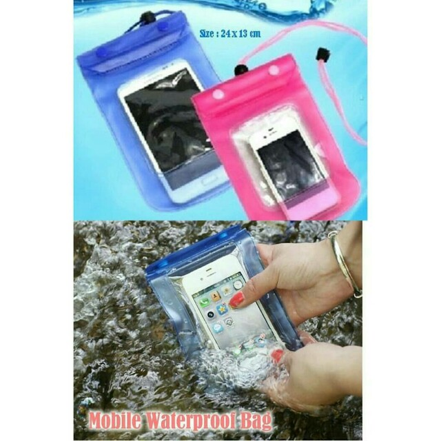 Waterproof bag / tas handphone anti air