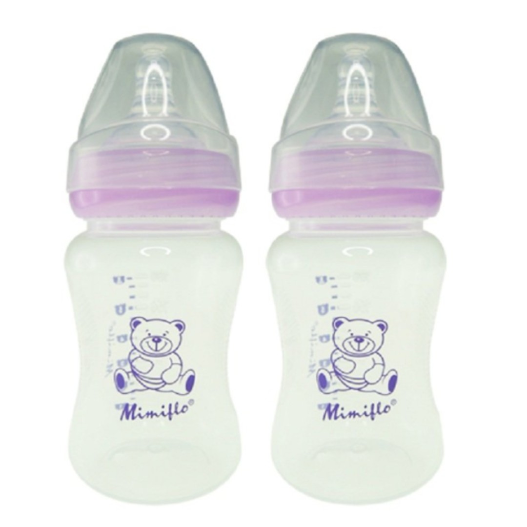Wide neck baby bottle (2)