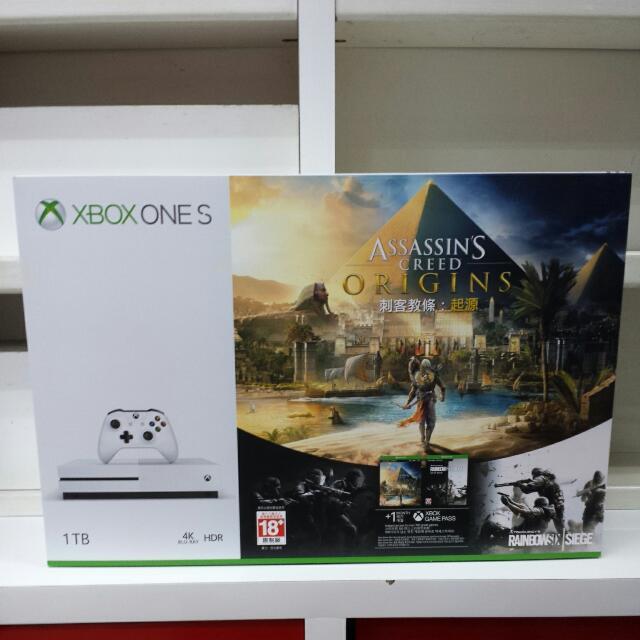 XBOX One S 1TB Assassin's Creed Origins Bundle
