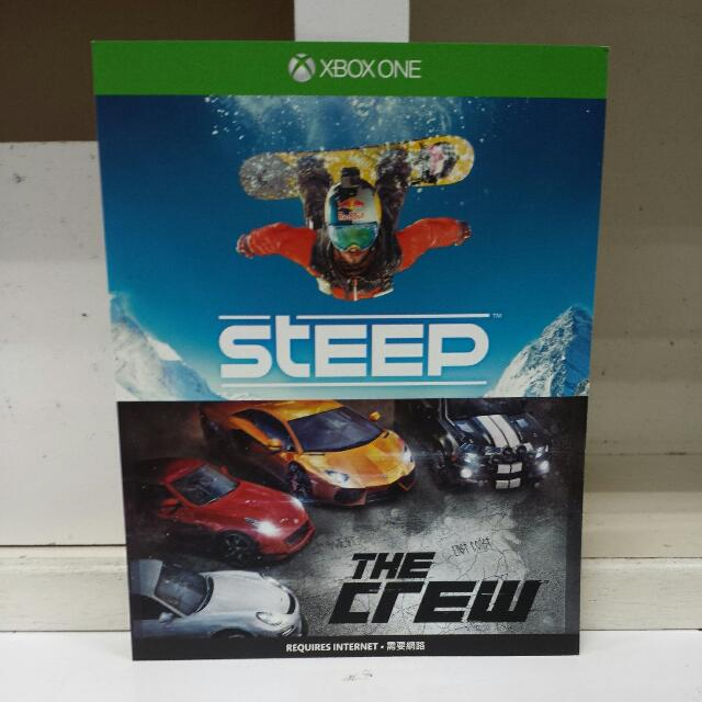 XBOX One Steep And The Crew Full Game Download Card