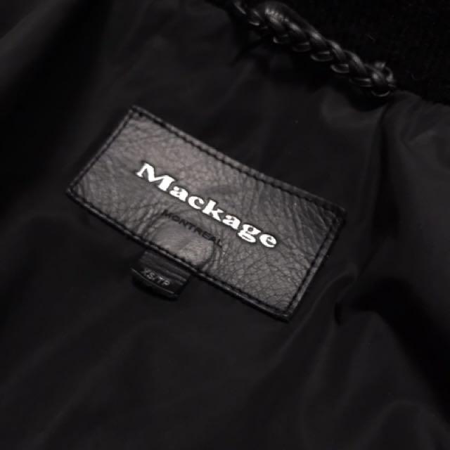 XS Mackage Adali down jacket
