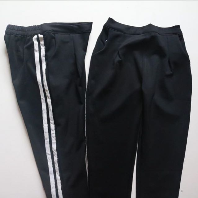 Zara stripe pants look a like