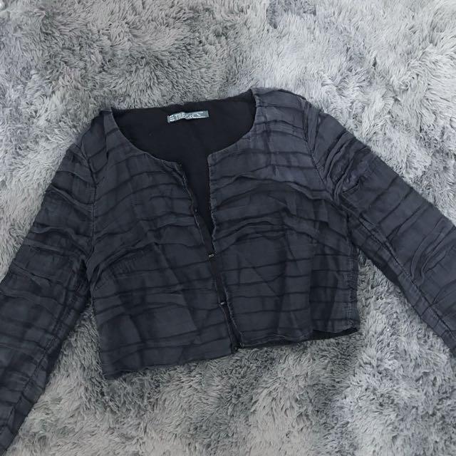 Zara Trafaluc Crop Jacket