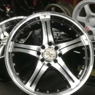 Vip movevic 17 inch sports rim vios .. vip style is about lifestyle, you keep rolling this wheel the you are like oppa gangnam style!!!