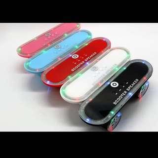 Skateboard scooter Bluetooth speaker