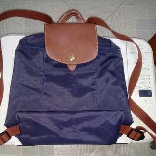 LONG CHAMP BAG背包,90%new(正品)