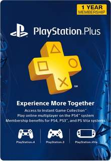 [USA] PlayStation Plus 1 Year Membership (Digital)