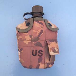 Camouflage Water Canteen Water Bottle