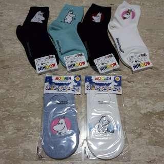 moomin socks !!