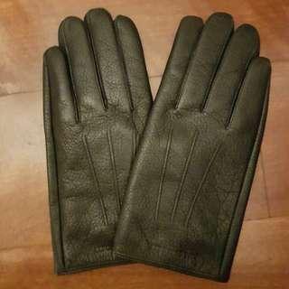 Louis Quartorze leather gloves