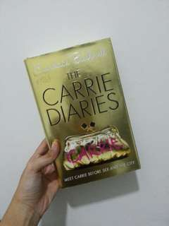 The Carrie Diaries - Candace Bushnell (hard cover)