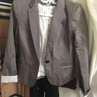 BNWT grey blazer