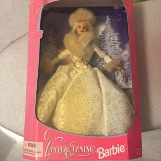 Barbie Doll winter collection