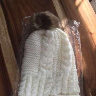 White Winter Hats