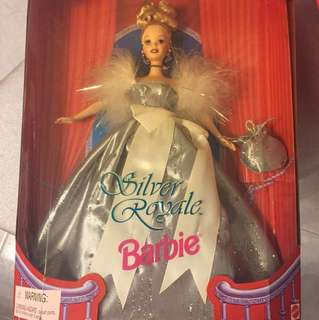 Barbie Doll Silver Royale