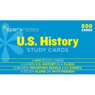 SAT Prep U.S. History Sparknotes Flashcards