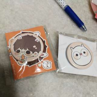 [KAI SALES] Kookiebun pin set